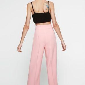 NWOT! Zara Women light Pink Short palazzo